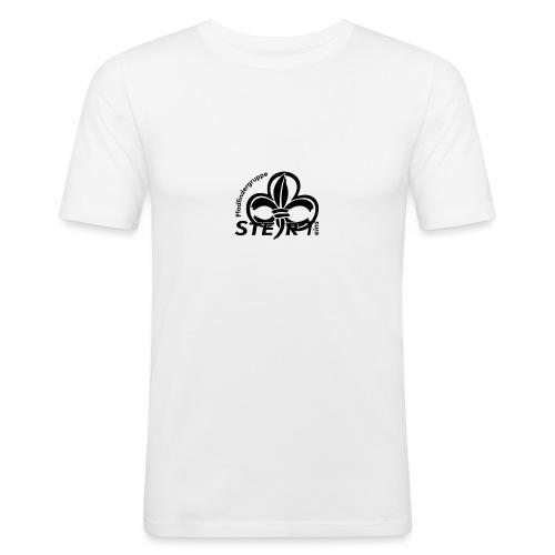pfadi profil frei schwarz - Männer Slim Fit T-Shirt