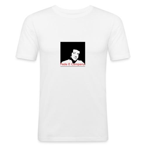 FedeCompany - Maglietta aderente da uomo