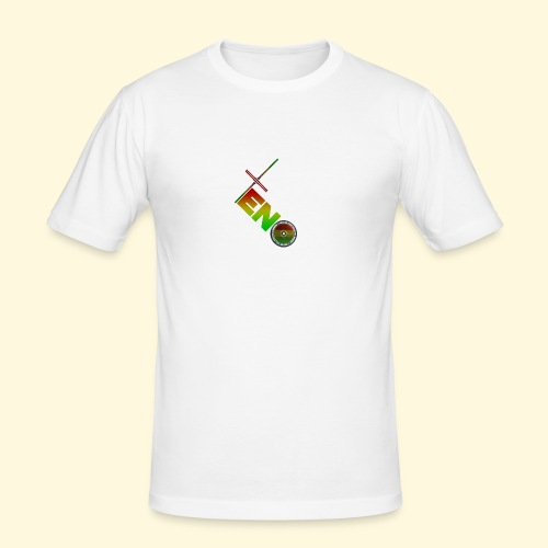 Scooter Logo - Rasta - Men's Slim Fit T-Shirt