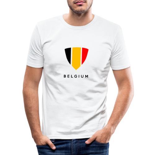 Bouclier de Belgique 2021 - T-shirt près du corps Homme