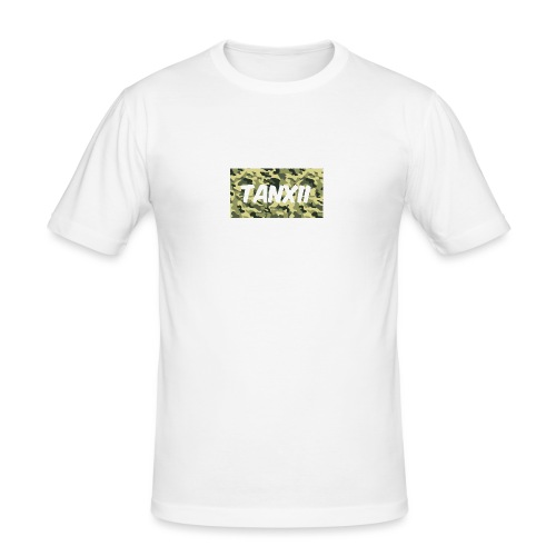 Camo Logo - Men's Slim Fit T-Shirt