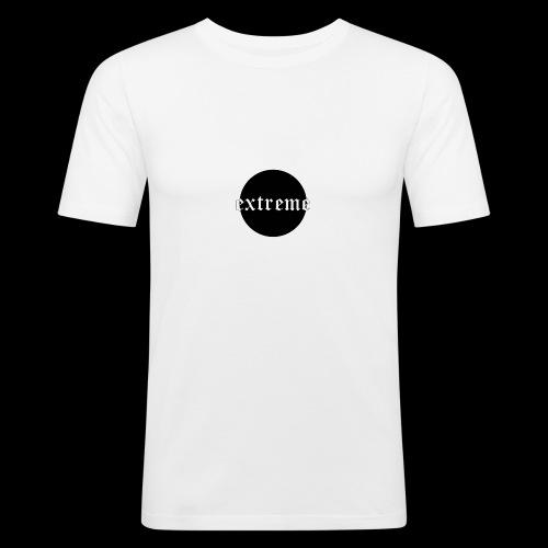 extreme black - Men's Slim Fit T-Shirt