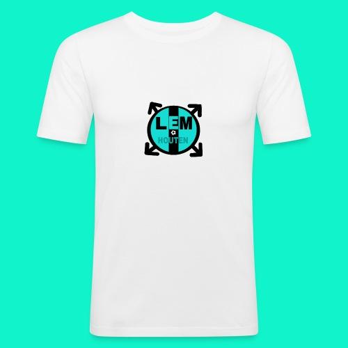 lol - Mannen slim fit T-shirt