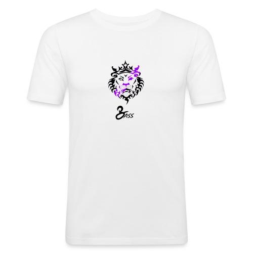 BASS X LION - Men's Slim Fit T-Shirt