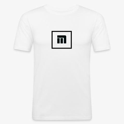 Malecka logo petit - T-shirt près du corps Homme