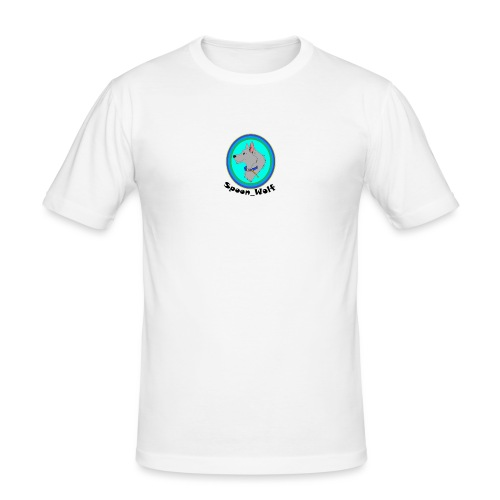 Spoon_Wolf_2-png - Men's Slim Fit T-Shirt