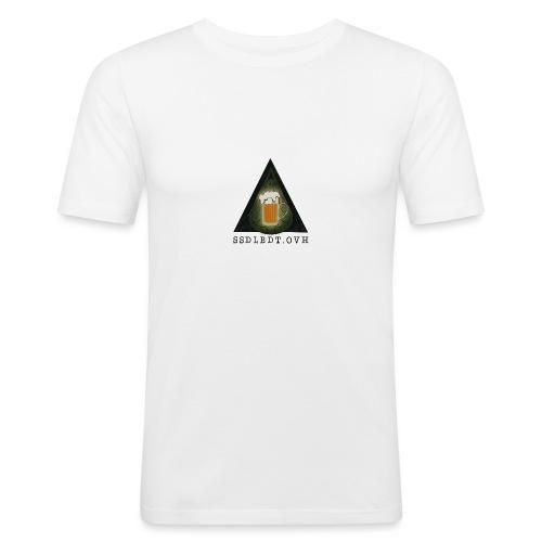 SOCIÉTÉ SECRÈTE DE LA BIÈRE DE TURGOT - T-shirt près du corps Homme
