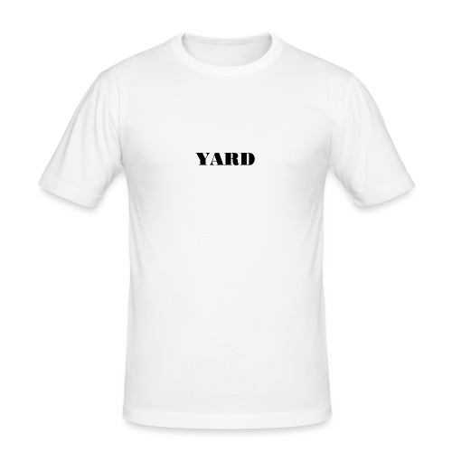 YARD basic - Mannen slim fit T-shirt