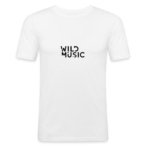 Wild Music Logo - Camiseta ajustada hombre