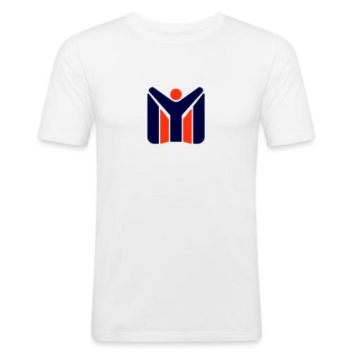 logo MYSC logo - Maglietta aderente da uomo