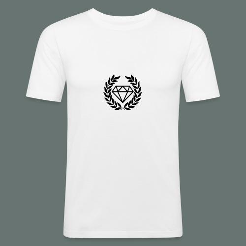 Black diamond Logo - Men's Slim Fit T-Shirt