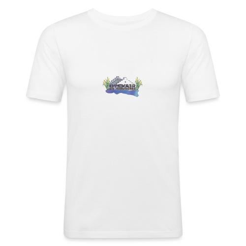 Openair am Greifensee Retro - Männer Slim Fit T-Shirt