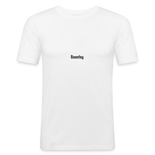 boootleg - Slim Fit T-skjorte for menn
