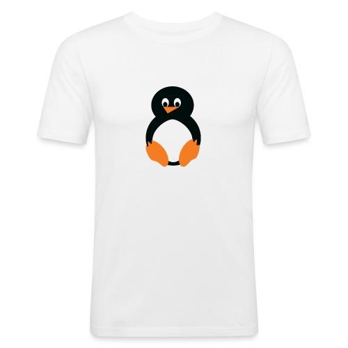 Pingvin - Slim Fit T-shirt herr