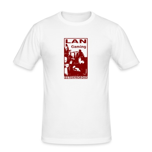 LAN Gaming - Männer Slim Fit T-Shirt