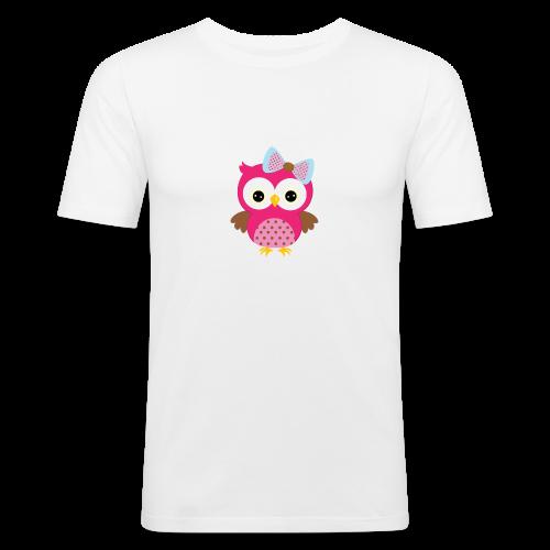 Girly Owl - Men's Slim Fit T-Shirt