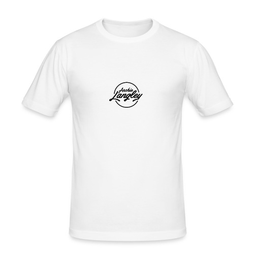 Archie Langley - Men's Slim Fit T-Shirt