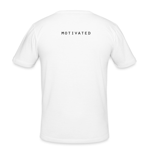 MOTIVATED5 - Männer Slim Fit T-Shirt