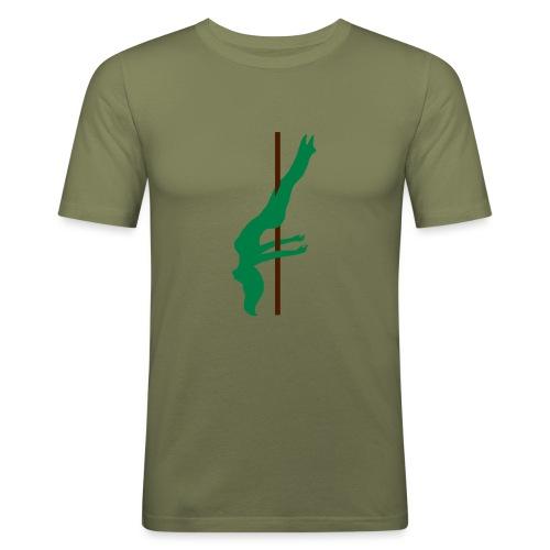 Pole Dance Pole Dancing - Maglietta aderente da uomo