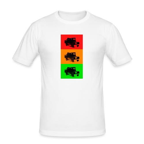 Retro Land-Rover - Men's Slim Fit T-Shirt