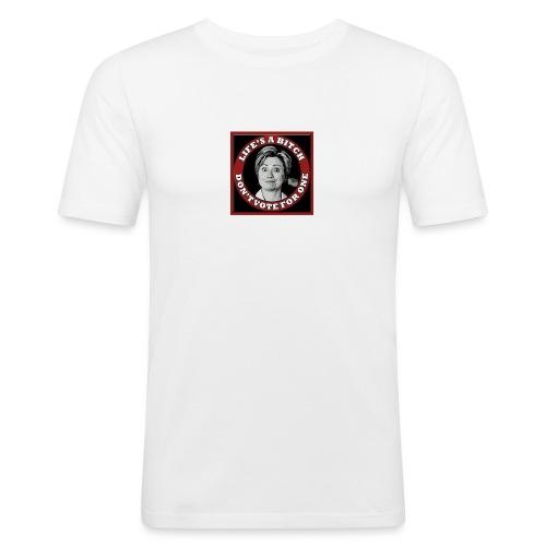 Don't Vote Hilary - Men's Slim Fit T-Shirt