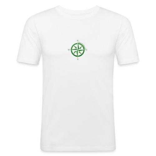 Team Bushcraft Kompass - Männer Slim Fit T-Shirt