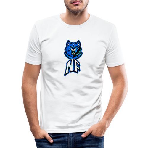 Noah Fortes logo - Mannen slim fit T-shirt