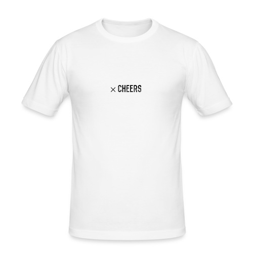xCheers Vintage - Männer Slim Fit T-Shirt