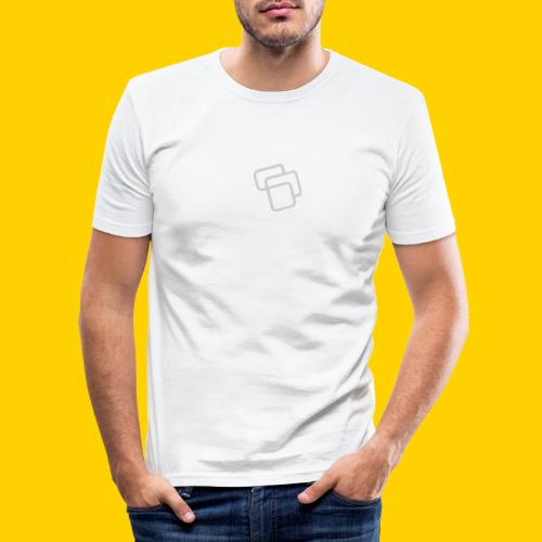 LogoSquares - Men's Slim Fit T-Shirt