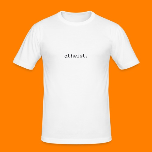 atheist BLACK - Men's Slim Fit T-Shirt