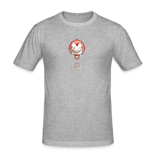 clown-png - Mannen slim fit T-shirt