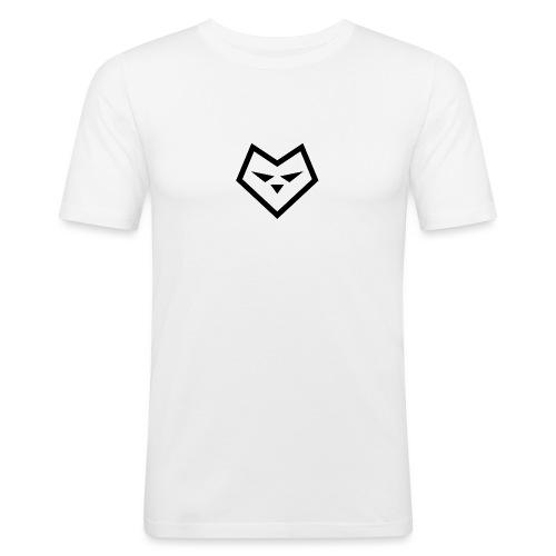 Zw udc logo - Mannen slim fit T-shirt