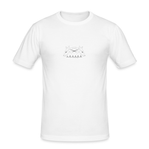Logo Wolf - Männer Slim Fit T-Shirt
