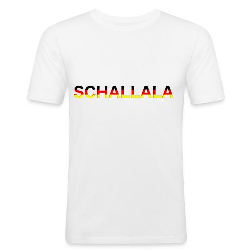 Schallala - Männer Slim Fit T-Shirt