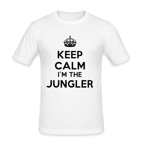 Keep calm I'm the Jungler - T-shirt près du corps Homme