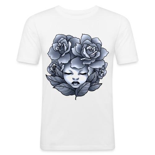 Flower Head - T-shirt près du corps Homme