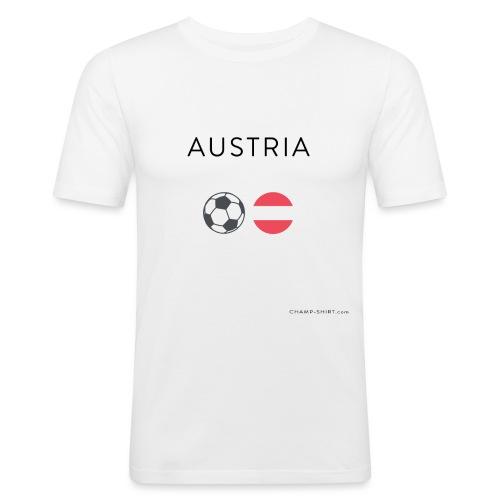 Austria Fußball - Männer Slim Fit T-Shirt