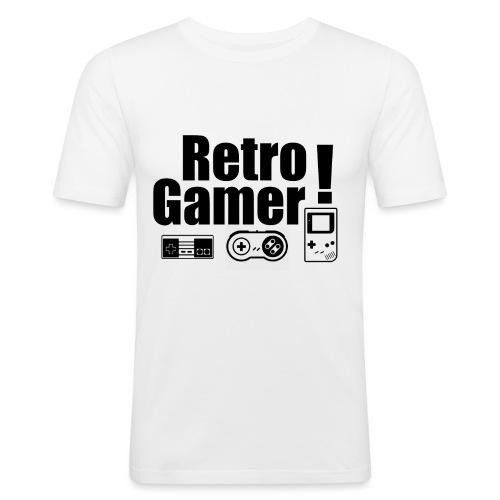 Retro Gamer! - Men's Slim Fit T-Shirt