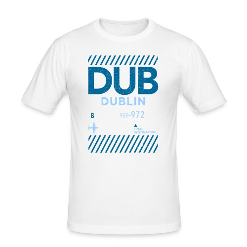 Dublin Ireland Travel - Men's Slim Fit T-Shirt