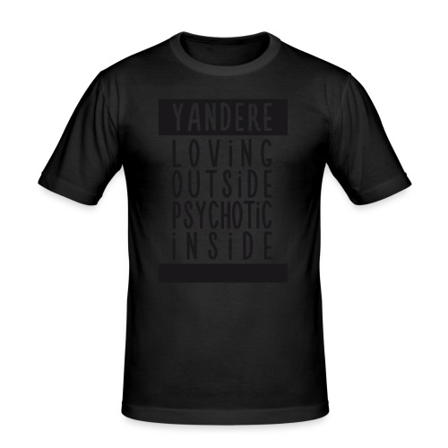 Yandere manga - Men's Slim Fit T-Shirt