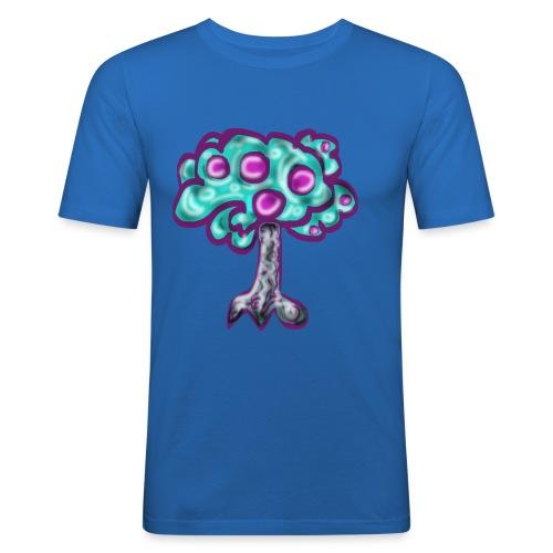 Neon Tree - Men's Slim Fit T-Shirt
