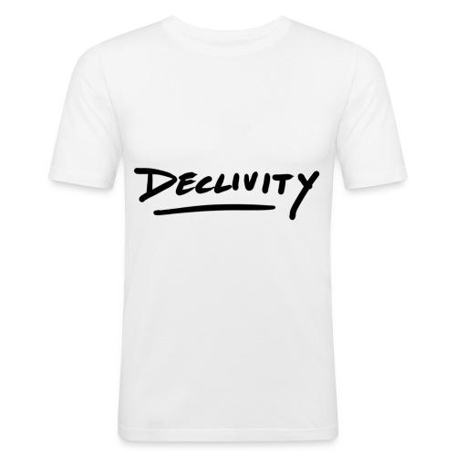 Projekt 2 svart - Slim Fit T-shirt herr