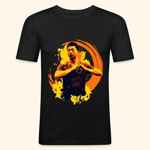 I heart table tennis championship - Männer Slim Fit T-Shirt
