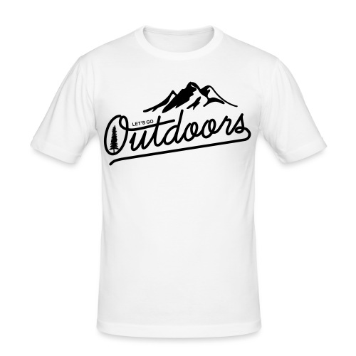 outdoors - Men's Slim Fit T-Shirt