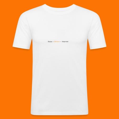 DDC Logo 04 - Men's Slim Fit T-Shirt