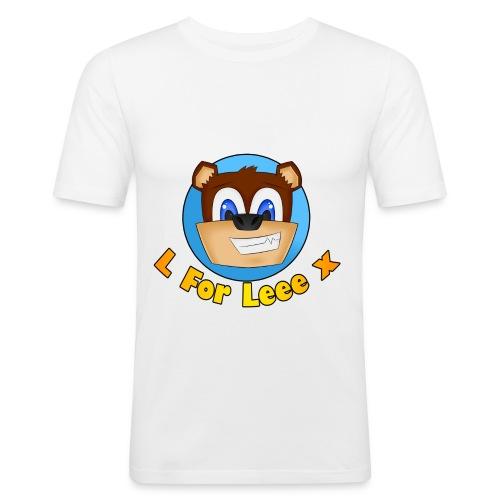 L for Leee x - Teenage T-shirt - Men's Slim Fit T-Shirt