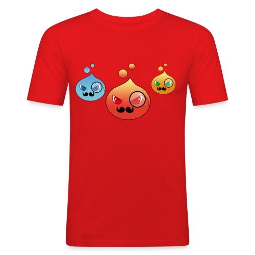Outlezz - Gentlemen Slime - Männer Slim Fit T-Shirt