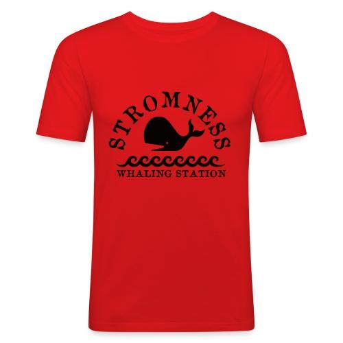 Sromness Whaling Station - Men's Slim Fit T-Shirt