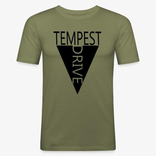 Komprimeret logo - Herre Slim Fit T-Shirt