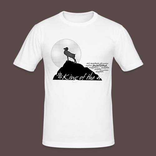 Muflone Halftone - Maglietta aderente da uomo